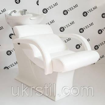 Кресло-мойка Lady One White