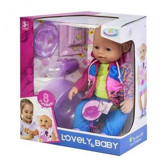 """Функциональный пупс """"Lovely Baby"""" 8040-487"""