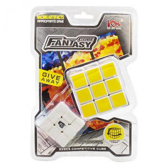 "Кубик Рубика ""Fantasy Cube"" 2 в 1 2025A"