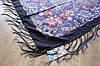 Платок шерстяной павлопосадский (120см) 607025, фото 3