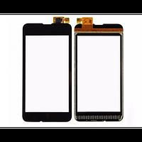 Тачскрин (сенсор, стекло) для Nokia 530 (black)
