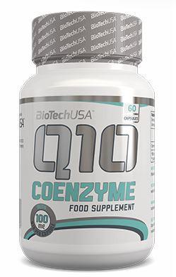 Вітаміни для серця Coenzyme Q10 100 mg BioTech USA 60 caps