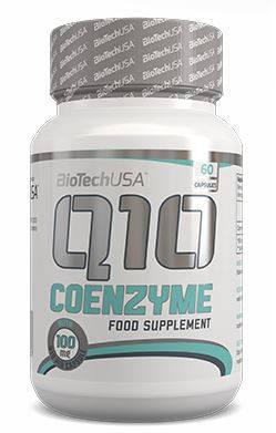 Вітаміни для серця Coenzyme Q10 100 mg BioTech USA 60 caps, фото 2