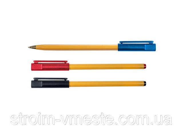 Ручка шариковая красная 4-107 4OFFICE