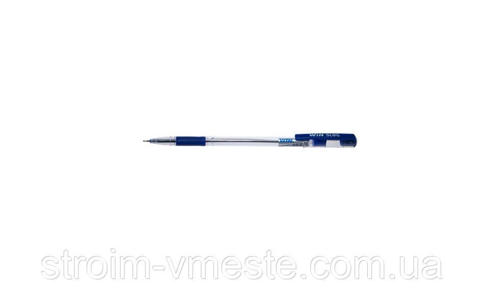 Ручка шар., маслян., 0.7мм, фиол., SLOG, WIN