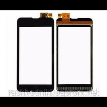 Тачскрин (сенсор, стекло) для Nokia 530 (black) HiCopy