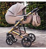 Детская коляска 2 в 1 Tako Laret Imperial 02 коричневая, фото 7