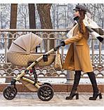 Детская коляска 2 в 1 Tako Laret Imperial 02 коричневая, фото 8