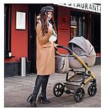 Детская коляска 2 в 1 Tako Laret Imperial 02 коричневая, фото 9