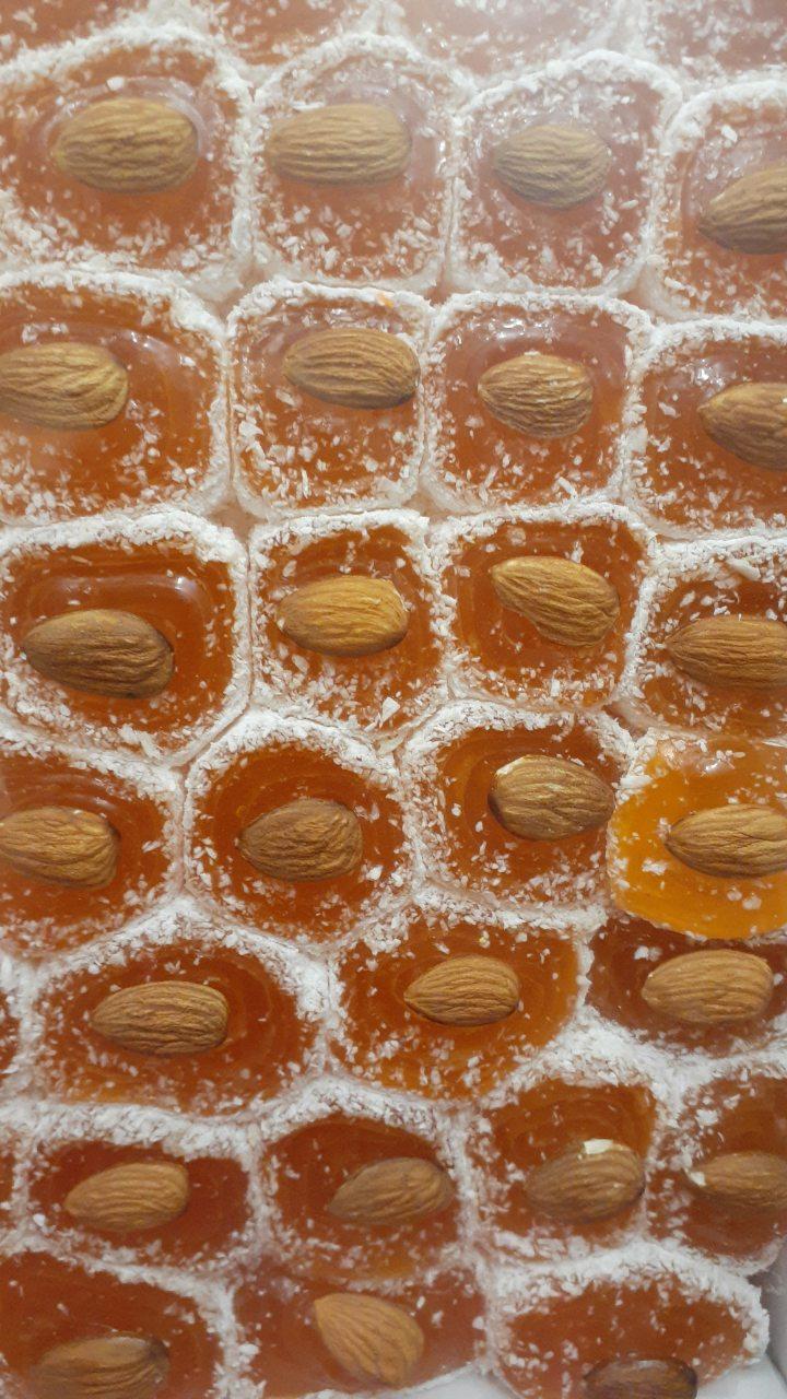 Рахат лукум Апельсин с миндалём 1,5 кг