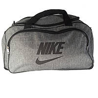 Сумка дорожная в стиле Nike серая, фото 1