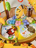 Коврик-манеж Львенок 63571 с шариками, фото 10