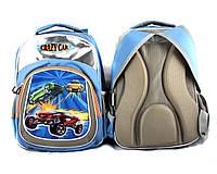 Рюкзак ортопедический Crazy car ,400х300*13мм .Рюкзак школьный ортопедический Crazy car  для мальчика-ученика