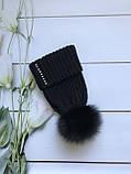 Женская шапка и снуд. Ручная вязка., фото 3