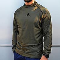 Мужская куртка ветровка анорак Jordan хаки