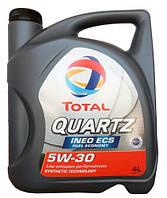 Моторное масло TOTAL QUARTZ INEO ECS 5W-30 4л  (TL 195324)