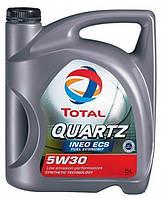 Моторное масло TOTAL QUARTZ INEO ECS 5W-30 5л  (TL 195323)