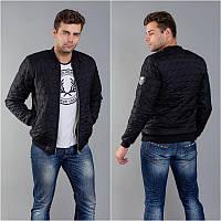 Стильная куртка мужская -бомбер мод.1227
