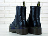Женские ботинки в стиле Dr Martens Jadon BLACK (Реплика ААА+), фото 3