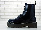 Женские ботинки в стиле Dr Martens Jadon BLACK (Реплика ААА+), фото 4