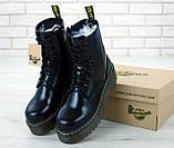 Женские ботинки в стиле Dr Martens Jadon BLACK (Реплика ААА+), фото 2