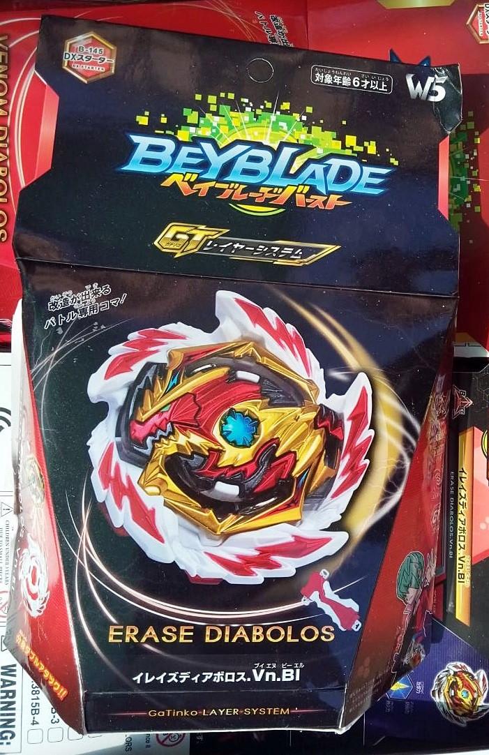 Beyblade Erase Diabolos B-145 Бейблейд Ирейз Диаболос