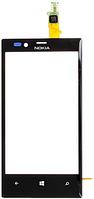 Тачскрин (сенсор, стекло) для Nokia 720 (black) High Copy