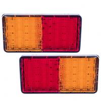 Стоп-сигналы дополнительные светодиодные (50LED)(Левый/правый)(180х92мм)