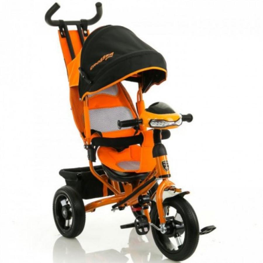 Велосипед трехколесный Crosser One T1 AIR оранжевый