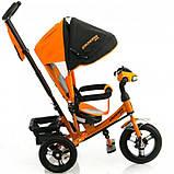 Велосипед трехколесный Crosser One T1 AIR оранжевый, фото 2