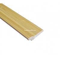Плинтус бамбуковый,светлый,1.85м