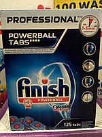 Таблетки для посудомоечной машины Finish 125 таб, фото 1