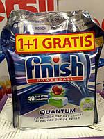 Таблетки для посудомойки Finish Quantom 2*40 штук, фото 1