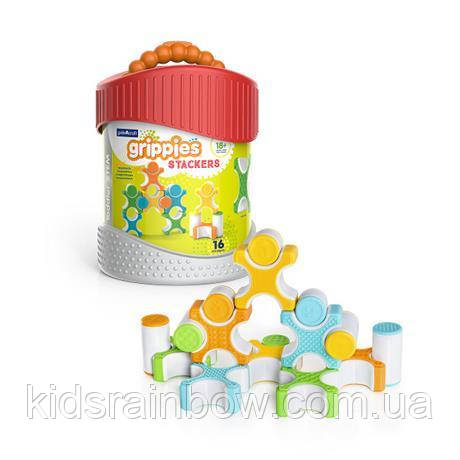 Конструктор Grippies Stackers, 16 деталей