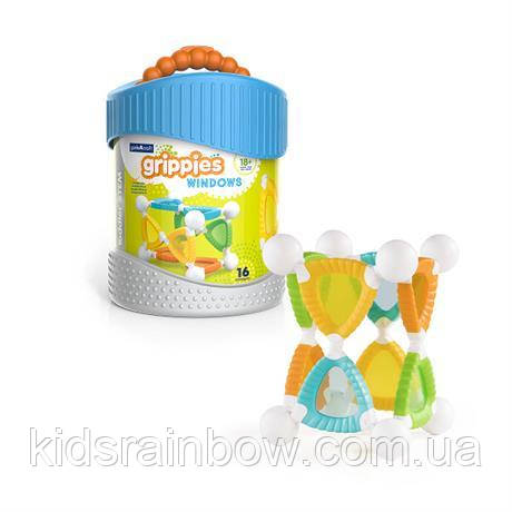 Конструктор Grippies Windows, 16 деталей
