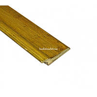 Плинтус бамбуковый, серо-зеленый,1.85м