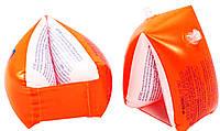 Надувная страховка для маленьких пловцов, нарукавники 58641, алого цвета, 2хкамерные, лёгкие, удобные