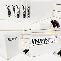 Lash Box, Лэшбокс Infinity белый на 5 планшетов