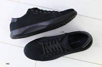 Черные мужские кеды, фото 1