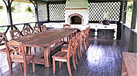 Деревянная мебель под старину от производителя