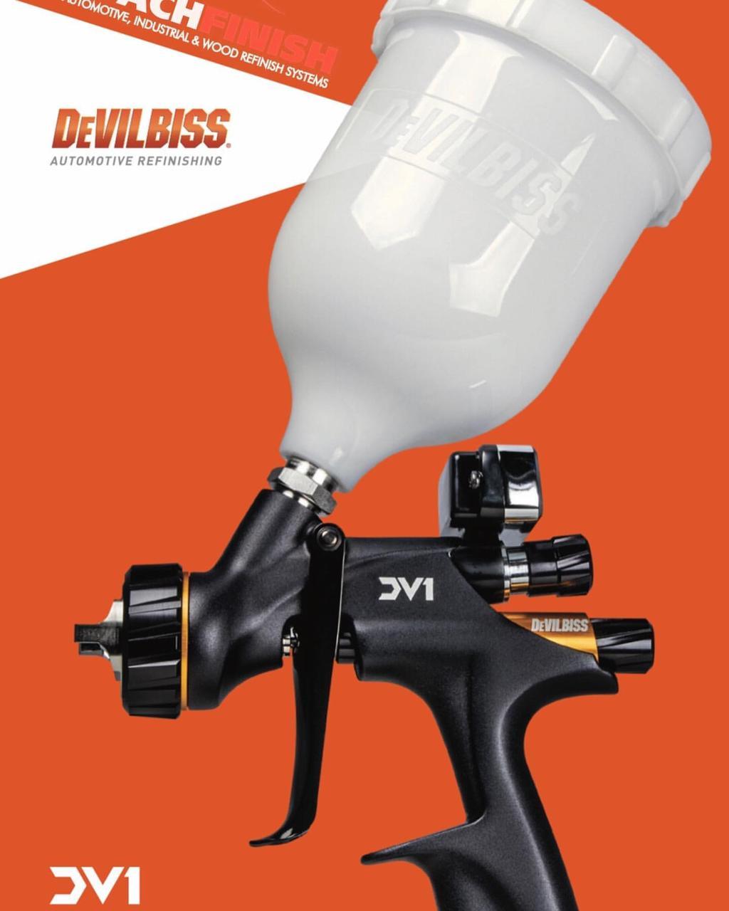 Краскопульт Devilbiss DV1-C1 PLUS (Лаковый)