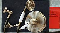 Смеситель для душа скрытого монтажа KAISER VINCENT 51018-1 Бронза