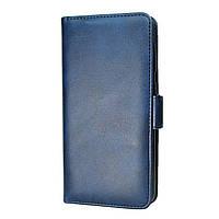 Чехол-книжка Leather Wallet для Apple iPhone XR Синий