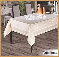 Скатерть тефлоновая  прямоугольная  Maison Royale Meltem   160х220  Crem, Турция, фото 1