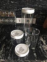 Набор емкостей для сыпучих продуктов 3 предмета., фото 1