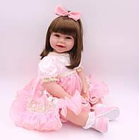 Кукла реборн 62 см девочка Кристина