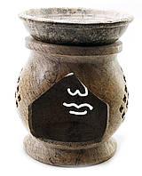 Аромалампа из мыльного камня (11х9х9 см)