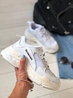 Женские кроссовки белая сетка