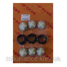 Клапан насоса высокого давления Hawk NMT 1520 ( комплект 6 шт )