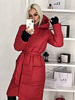 Пальто женское осень-зима синтепон 42-46рп. бутылка, фото 1